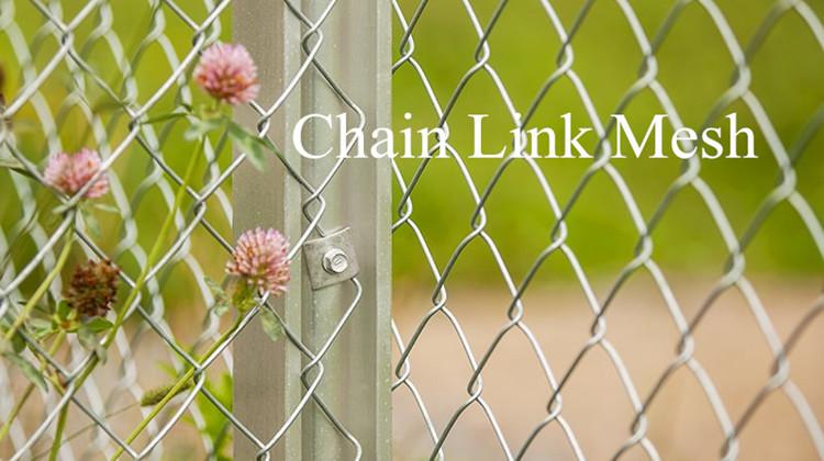 Cadeia de diamante Rolo de Malha De Arame Link Esgrima