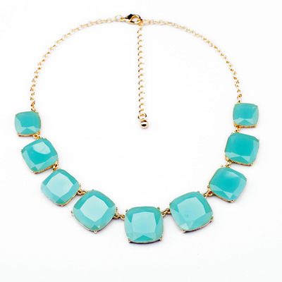 Grosir Klasik Berlapis Emas Perhiasan Trendi Pernyataan Kalung