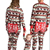 Dad And Mom Kids Christmas Rompers Family Deer Pajamas Children Clothing Long Frock Pants Jumpsuits