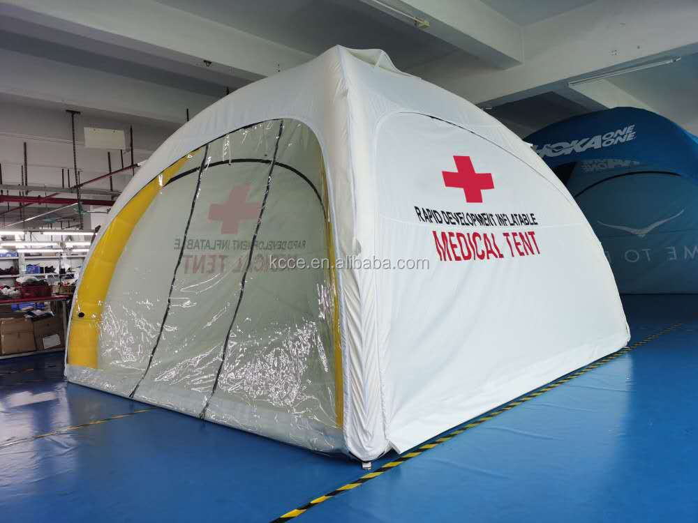 4x4m fast shipping  emergency medical tent/inflatable dome medical tent//