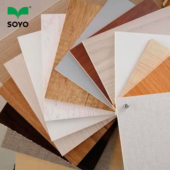 Cheap price white  melamine plywood 18mm