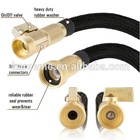 Garden Hose Resistance Metal Spray Gun Flexible Garden Watering Hose