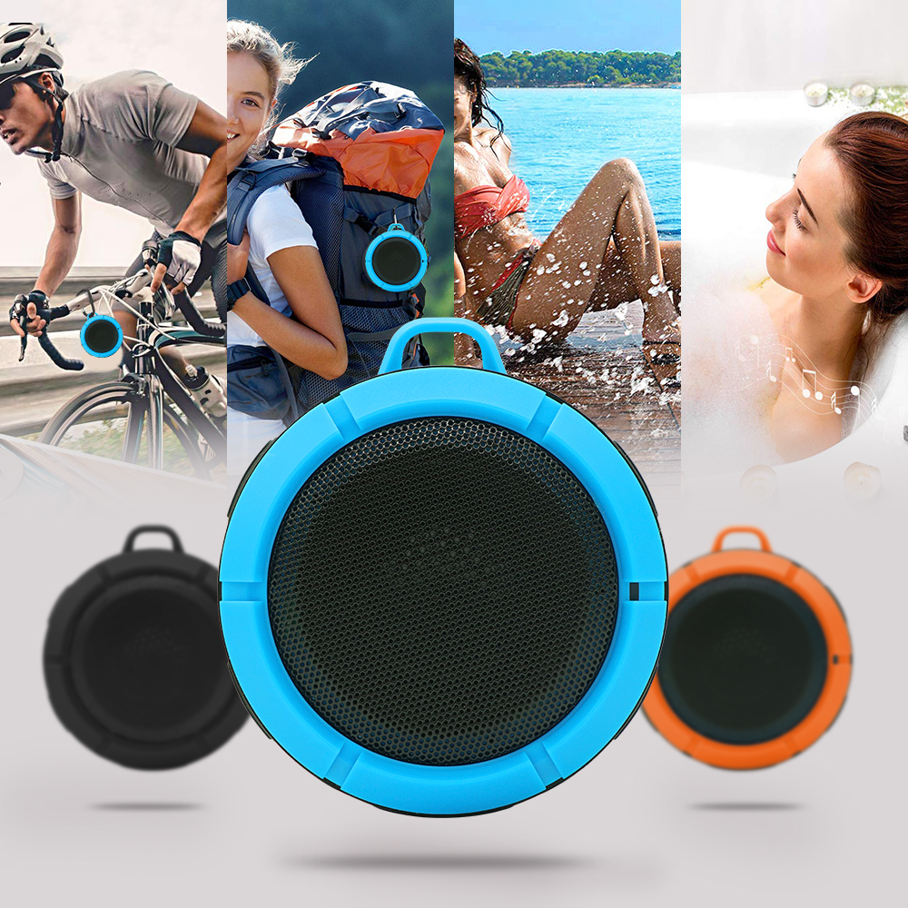 OEM portable phone bluetooth speaker with customized logo