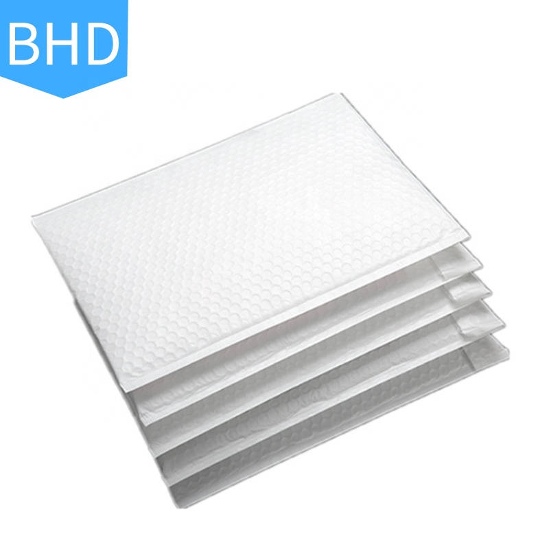 Custom printed poly shipping bubble mailers padded envelopes bags