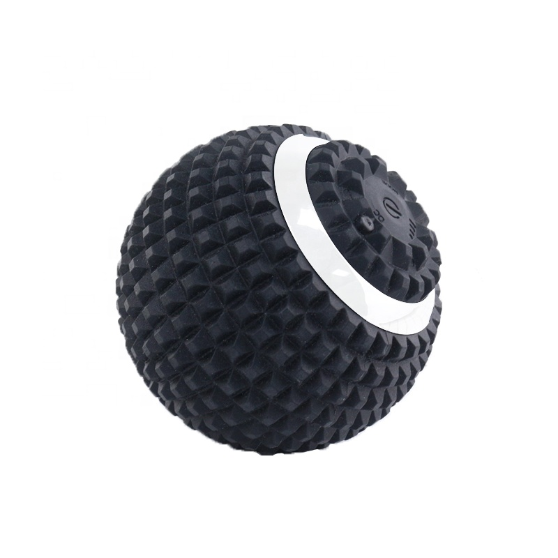 Promotional manufacturer Silicone Muscle Lacrosse Vibrating Massage Ball For Dancer relaxation