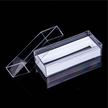 Fashional Clear Rectangular Hard Plastic Display case Packaging Box for Jewelry gift box