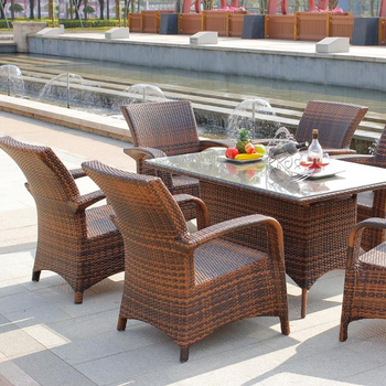 Outdoor Furniture Rattan Poly