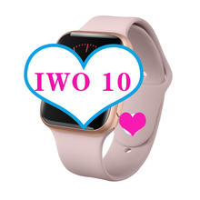 IWO10 Smart Uhr Serie 4 wasserdicht Männer Frauen Bluetooth SmartWatch für Apple iOS iPhone Xiaomi Android Smart Telefon