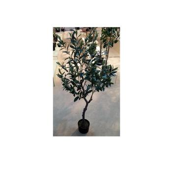 47 120cm Living Room Tree Decor Nearly Natural Diy Bonsai Black Fruits Olive Decorative Silk Tree With Plastic Pot Buy Artificial Indoor House Plant Bonsai Tree Centerpiece Plant Olive Tree For