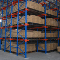 High Quality Heavy Duty Drive In Pallet Racking System For Warehouse Storage