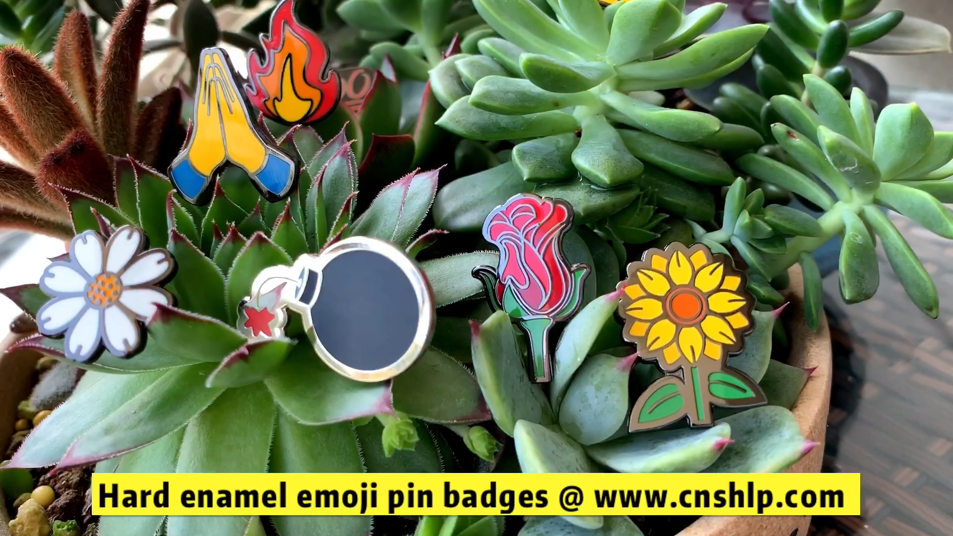 High polish quality custom metal hard enamel funny magnet pin badges