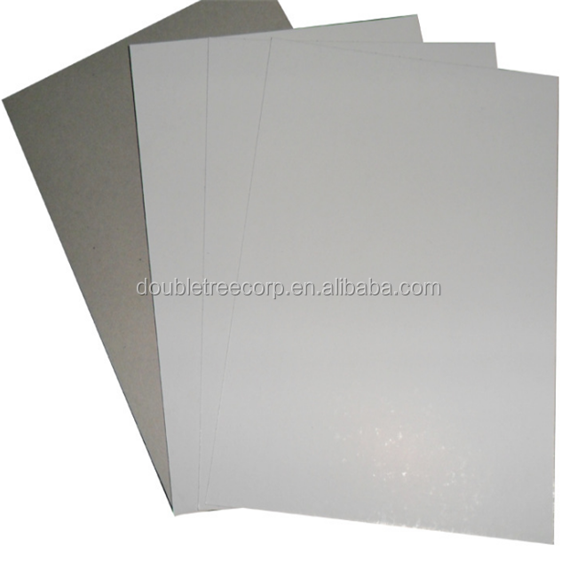 Wholesale Printable Duplex Board Grey / White Back  For Carton Box