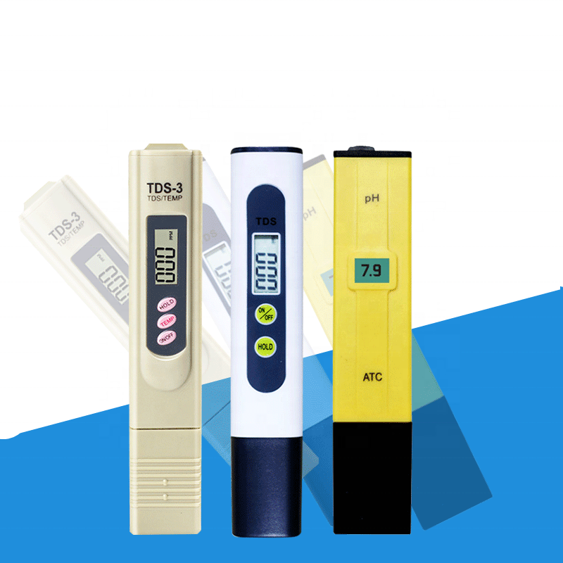 TDS3 water meter test pen water detector Three key water quality test pen PH Meter TDS-3 LED digital display temperature meter