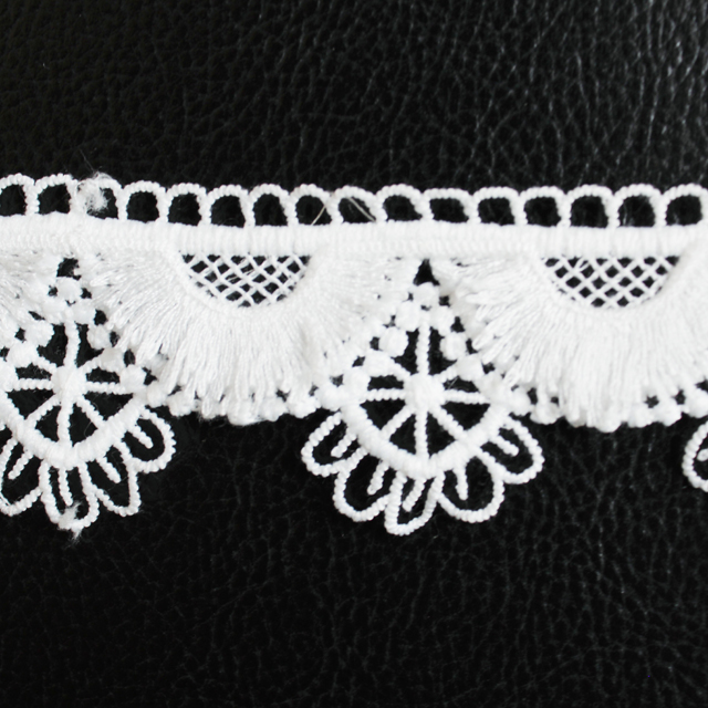 Narrow Fabric Lace Crochet Trimmings French Lace For Garment Pillow Curtain