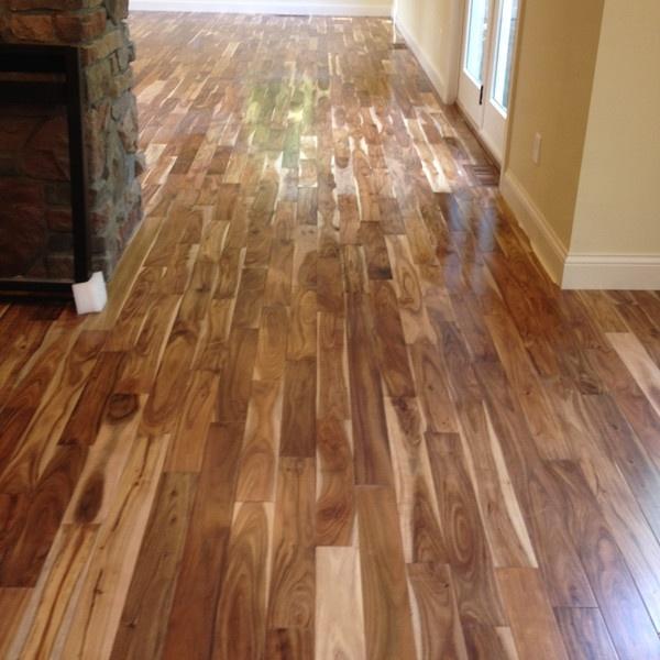 Amerikan Parke American Hardwood Acacia Natural Wood Flooring 18mm