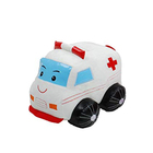 Ambulance toy plush ambulance car toy