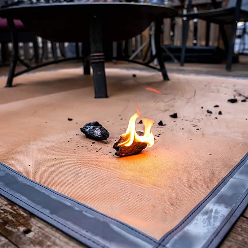 Amazon Hot Sale Outdoor Lawn Deck Protector Fireproof Grill Fiberglass Blanket Chiminea Ember Pad Camping Bbq Fire Pit Mat Buy Outdoor Fire Pit Mat Bbq Fire Pit Mat Fireproof Mat Product On