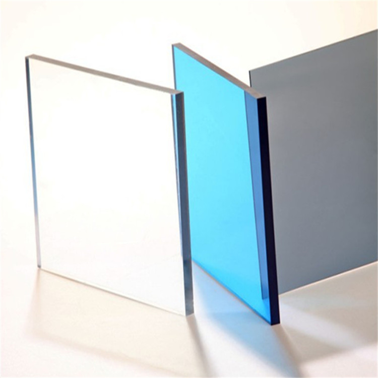 Fabrika özel 3mm 6mm 8mm 10mm şeffaf lexan polikarbonat levha policarbonato