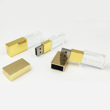 Kristall usb flash drive <span class=keywords><strong>silber</strong></span> goldene rose USB kristall flash stick 2,0/3,0 16GB 32GB kunden gravieren logo