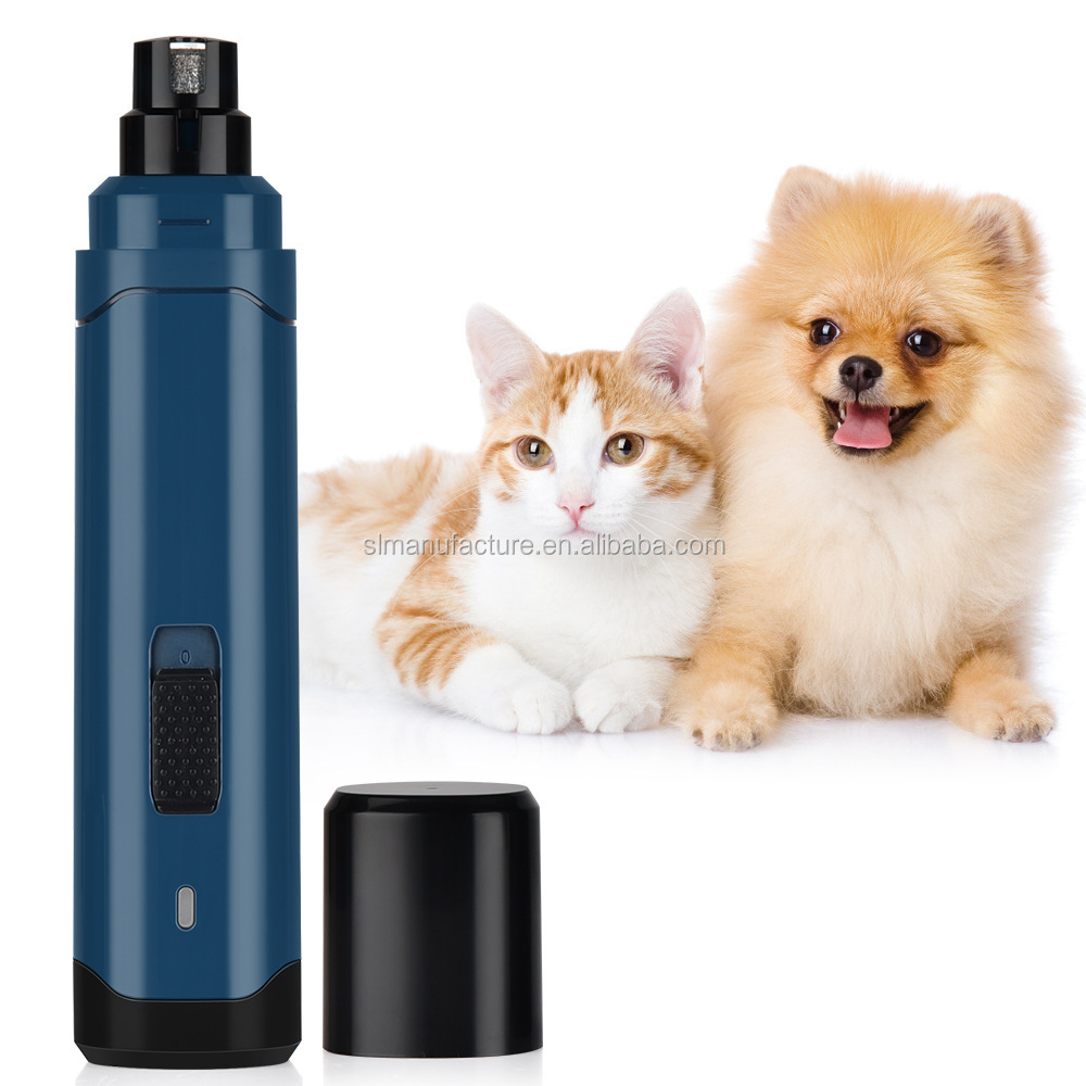 2020 Automatic Pet Dog Nail Trimmer Clipper USB Electric Pet Nail Grinder Pet Nail Polisher