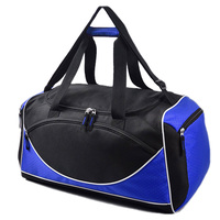 Wholesale Custom fashion leisure durable polycanvas outdoor sports gym duffle travel bag supplier