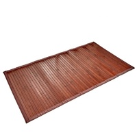 New arrival product bamboo bath mat shower floor chair mat for hardwood