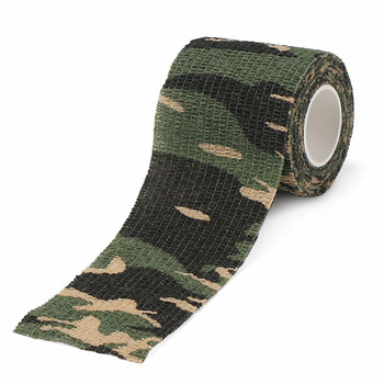 Camouflage Color Cloth Duct Casting Printed Camo Tape
