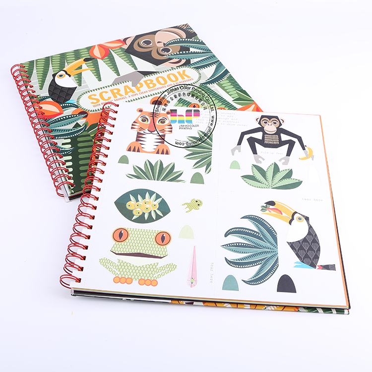 high quality notebook printing with spiral binding ,organizer planner notebook agenda printing