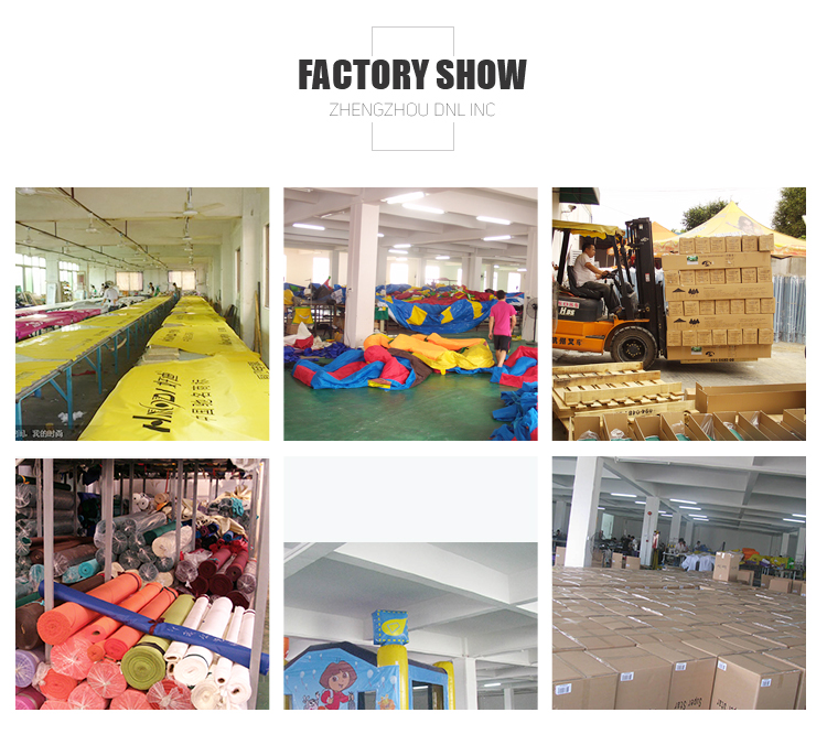 Advertising inflatable dancer for event