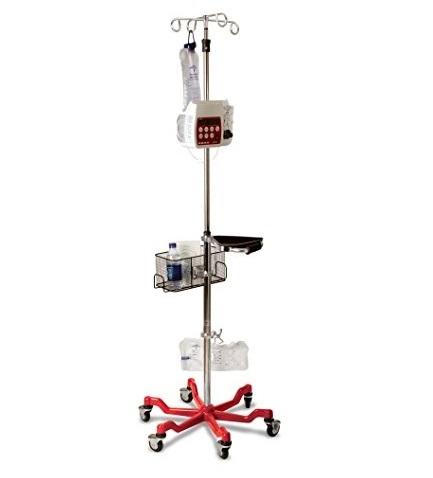 Mobile Adjustable hospital IV pole stand