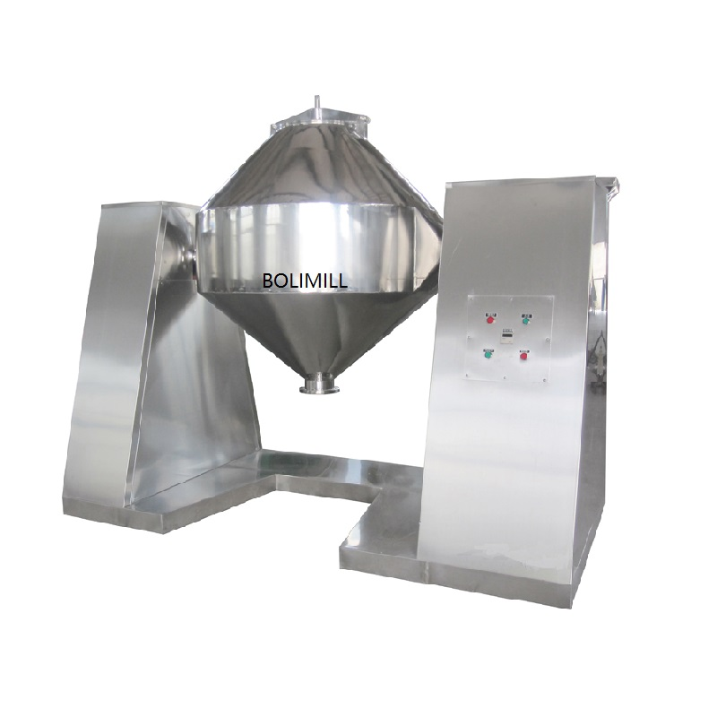 Stainless Steel Rotating Drum W Mixer For Powders With CE/ISO
