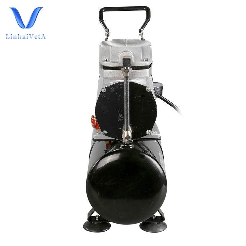 LinhaivetA professional oil free airbrush compressor tank 3l air brush spray gun