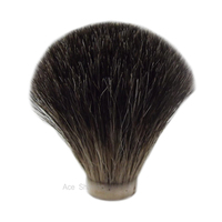 Knot Size 21/65mm Black Badger Hair Shaving Brush Head Barber Shop Accessory Manufacture