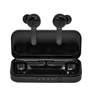 Wholesale HIFI sound earbuds mini portable oem blue tooh headphone wireless earphone with charging box
