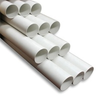 Customized Any Size Plastic Acrylic Tube/PC Pipes/PVC Pipe
