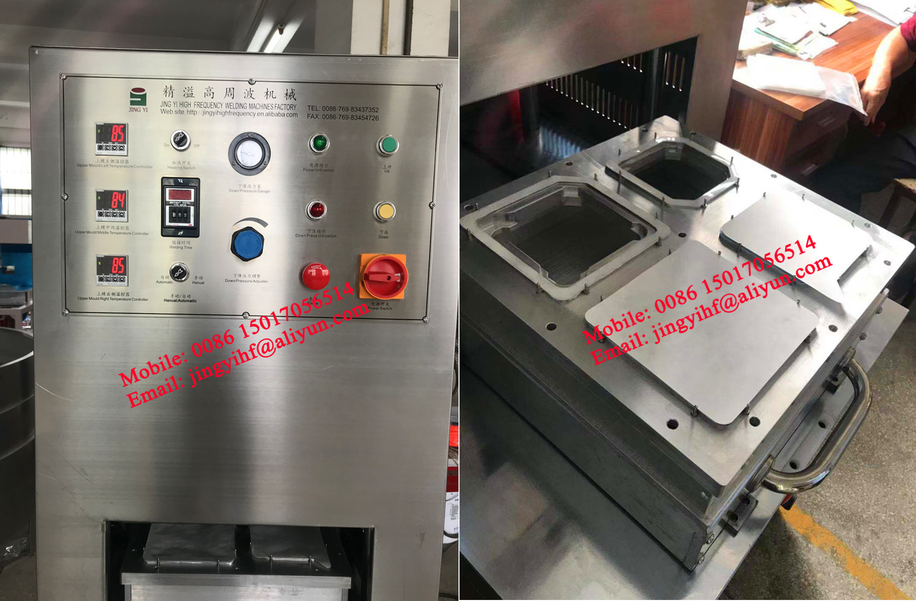 Medical usage tyvek pet blister sealing machine,syringe aseptic packing machine
