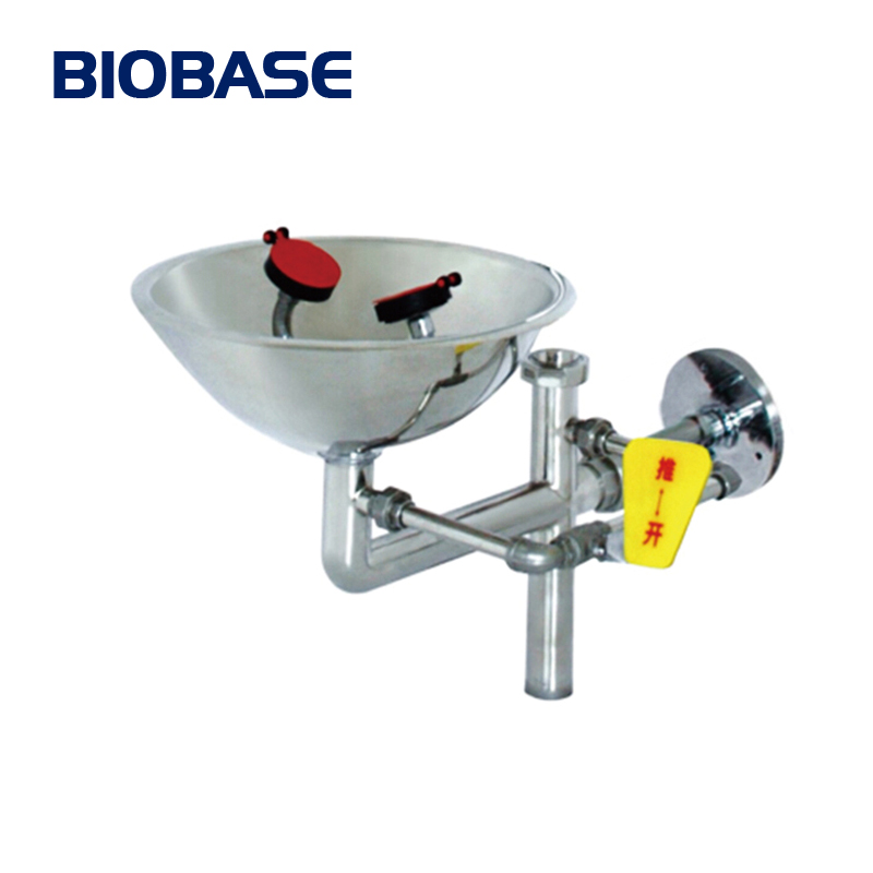 BIOBASE Easily Installed Single Head Emergency Eye Washer for lab or medical