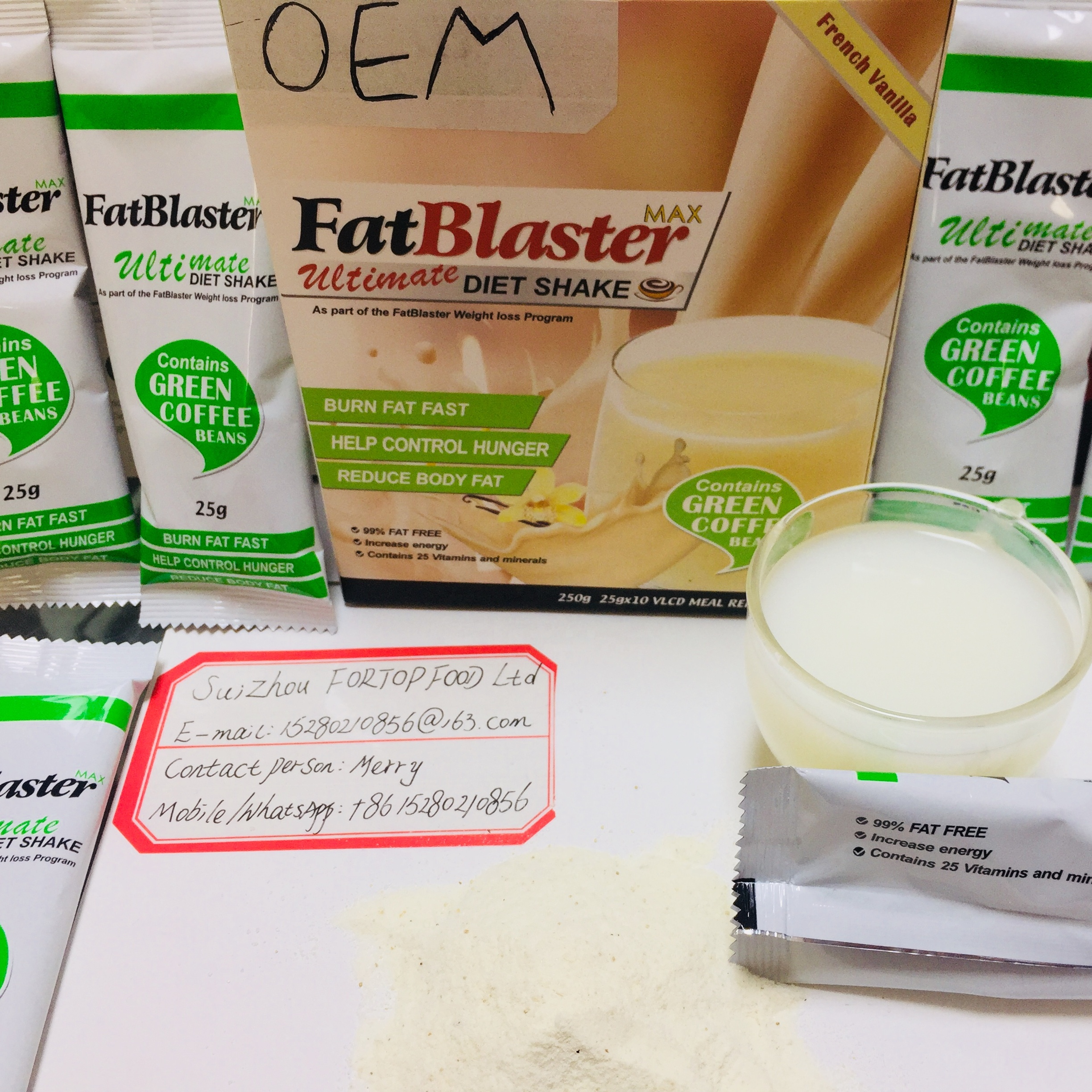 Fat Blaster Ultimate Diet Shake for Weight Loss - 4uTea | 4uTea.com