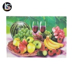 Colorful 3d 5d lenticular pictures with fruit dish painting for sale