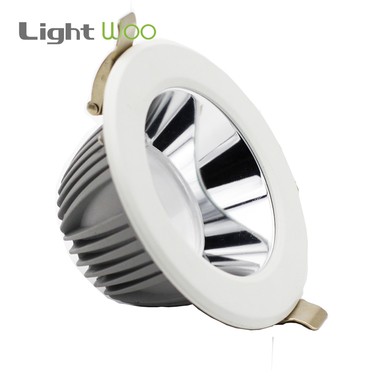 7w- 60w family series round smd anti glare recessed ceiling light 220V ceiling <strong>downlight</strong> led down light for project
