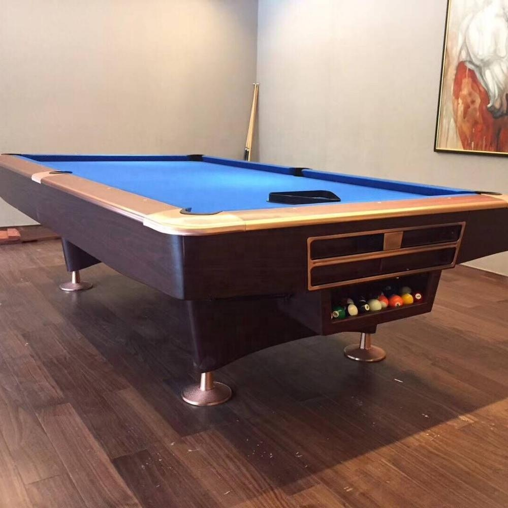 Hot Sale Wood  Colourful 9ft Modern  Billiard And Pool Table