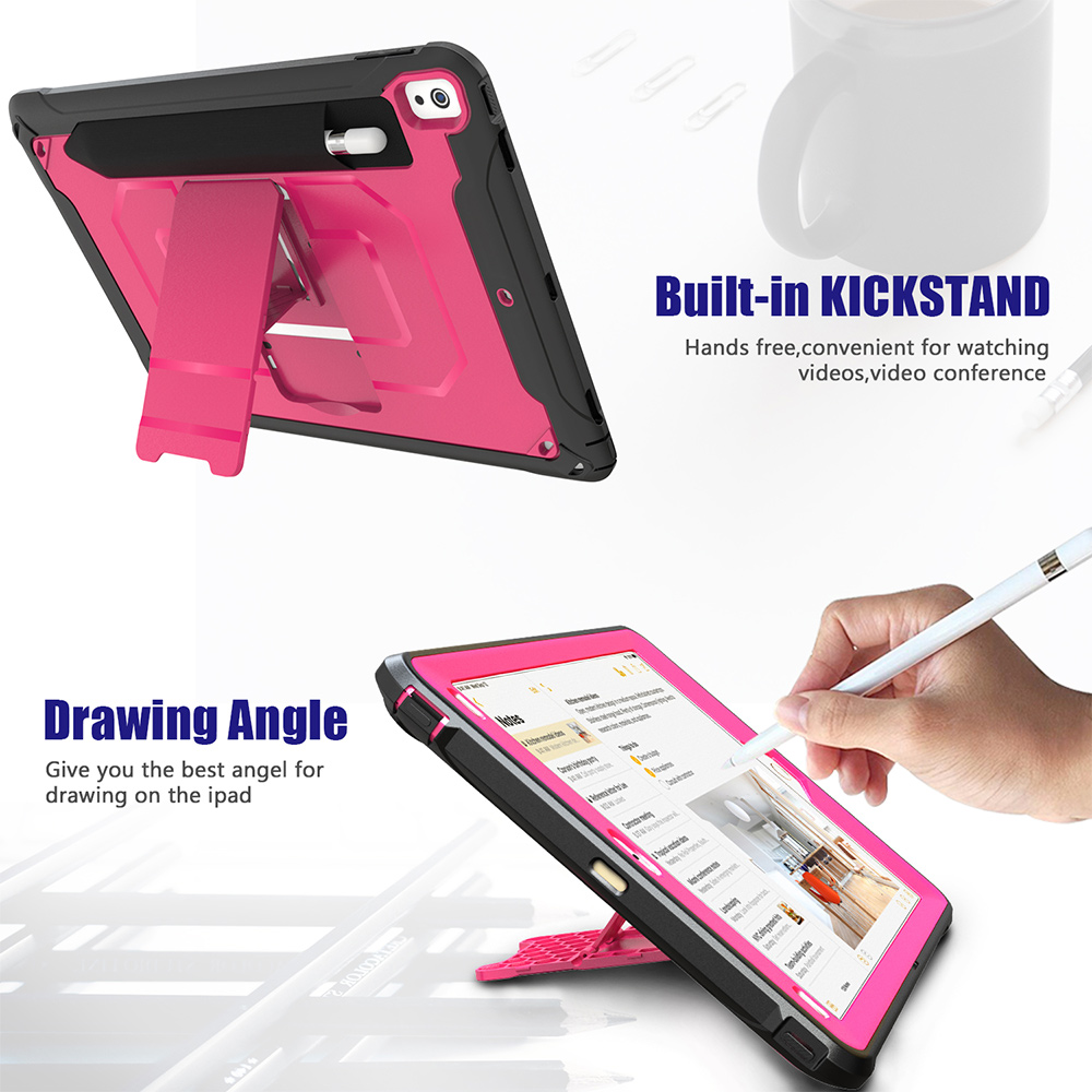 Tablet case for iPad pro 12.9 2020, Kids case for iPad mini 5 4 3 2 1, Pencil Holder cover for iPad Air 2