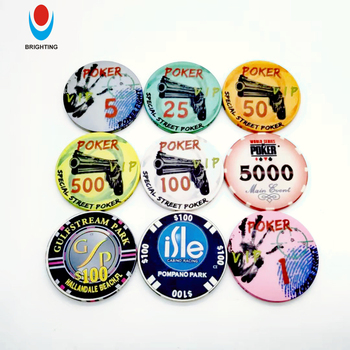 Custom Casino Quality 10g Ceramic Poker Chip