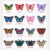 butterfly high quality and cheap customized design wholesale cute folk art embroidery patches