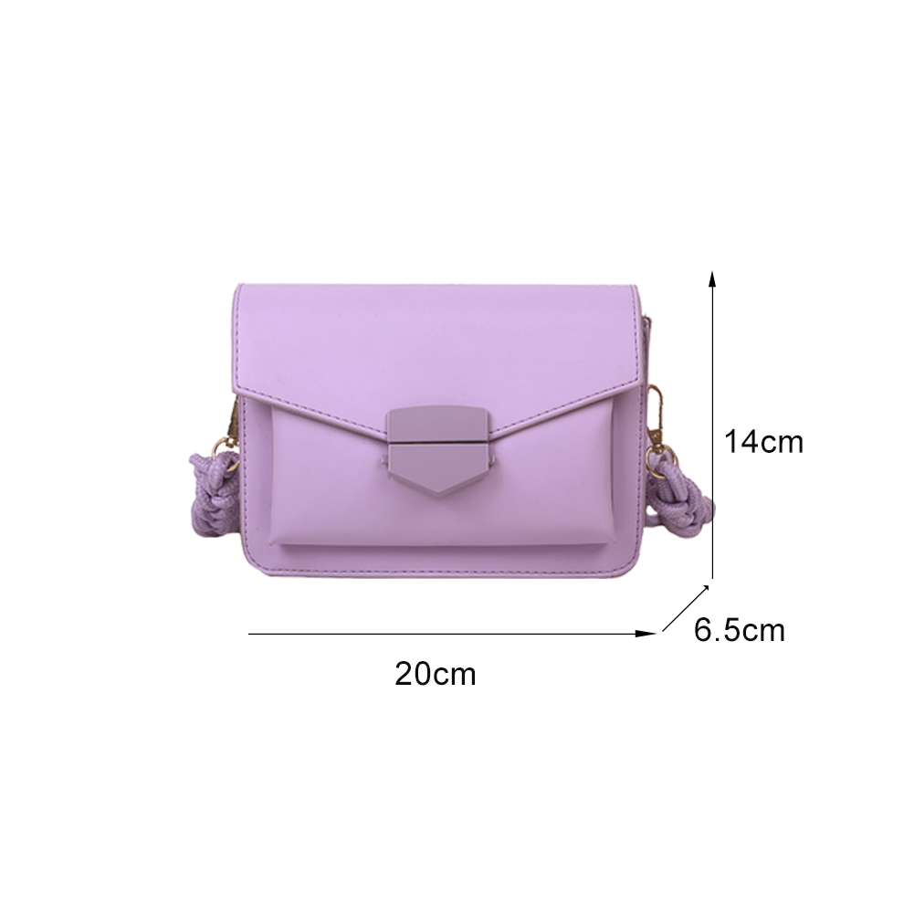 product-GF bags-Women new arrival Candy Color body Bags Small Square Shoulder Handbags Female Purse -2