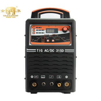 Golden Elephant Chinese Factory Direct Sales TIG315D AC/DC Welder Aluminium For Hardware Manufacturing Welding TIG Machine