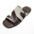 Beach summer mens palm fashionable rubber leather slippers for men