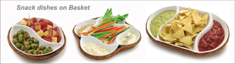 Ceramic Wooden bowl Eco-Friendly Salad Bowl