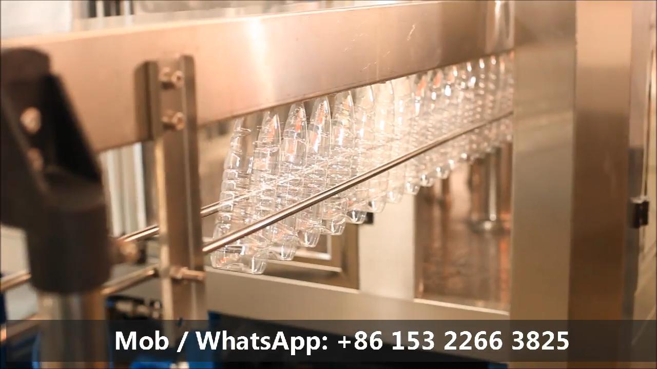 A Tot Z 3 In 1 Automatische Nog Huisdier Plastic Fles Water Vullen Machine / Plastic Flessen Water Productielijn