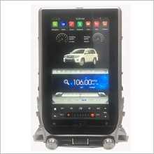 Capacitivo touch screen car stereo gps di navigazione android <span class=keywords><strong>autoradio</strong></span> Per TOYOTA Land Cruiser LC200 2018